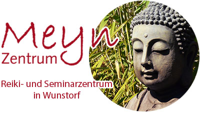 Meyn Reikizentrum Logo mit Budda