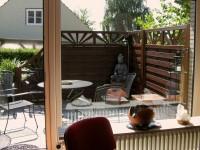 Terrasse vor dem Seminarraum